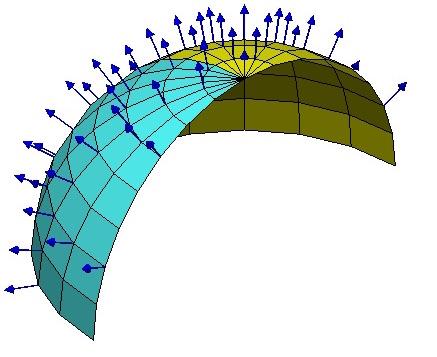 在球面上每一点建立不同的局部坐标系.jpg